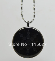 NEW ARRIVAL black Energy Pendant Stainless Steel Pendant Quantum Science Pendant  energy pendant with stainless steel chain