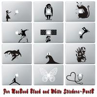 Free Shipping Part B Different Designs Vinyl Decal Sticker Skin for MacBook Decal Sticker Skin