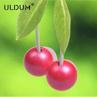 ULDUM cute cherry in-ear earphone factory supplier