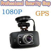 Free Shipping 2014 Hot Ambarella GPS GS8000 Car Dvr Camera Recorder 1080p Full HD HDMI G-Sensor Night Vision Car Video