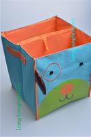 Children's toys storage box storage box storage bag folding canvas, owl ,bee,dog shape retail selling