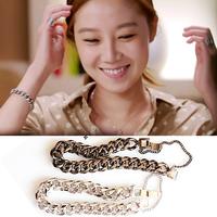 new 2014 Vintage metal bracelets & bangles in korean drama the master's sun,So Ji-Sub,Kong Hyo-Jin the masters sun