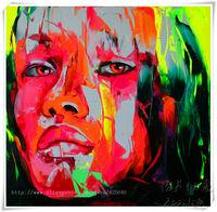 canvas wall art  pictures palette knife Figure painting Pop Art  High Q Handpainted Paints huge canvas painting R-13