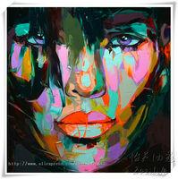 oil painting on canvas pictures palette knife Figure painting Pop Art  High Q Handpainted Paints decorative pictures A/5