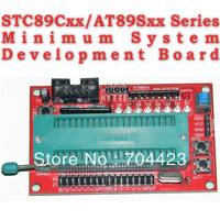 Minimum System Development Board Learning Board Development Board STC89CXX AT89SXX System Board  Presented Free 4sets Cu Pillar