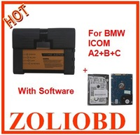 High Recommeded 2013 for BMW ICOM A2 + B + C with Software Wholesale and Retail Free Shipping via DHL