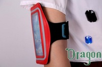 Free Shipping 1pcs Highquality Gym Band Exercise Arm Tune Belt Sport Waterproof Armband case cover For iPhone 5 5S 5C 4 4S