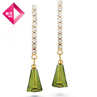 Neoglory Crystal Earrings Jewelry Luxury for Female Engagement Day Gifts 2013 New