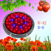 Free shipping 2013 new generation 90W UFO LED plant grow light Daisy Chain Aluminum Waterproof Shockproof High Quality Design