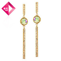 Neoglory Jewelry Rhinestone Drop Long Earrings for Women 2013 Wedding Holiday Sale