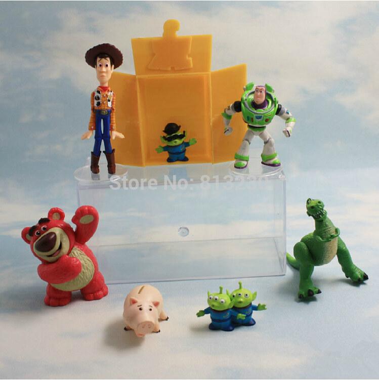 Ücretsiz kargo yeni aksiyon figürleri oyuncak hikayesi buzz