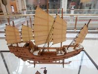 3D puzzle China sail boat ZHENG Hes Treasure-ship model Wooden model kit
