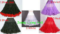 Soft Elastic Waist Petticoat for Vintage Dress 5 Colors for Choice