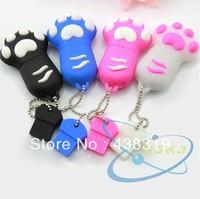 Cat's claw usb flash drive usb flash drive cartoon usb flash drive personalized usb flash drive 8gb round tin packaging