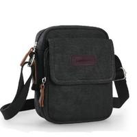Mini canvas man bag fashion messenger bag men's outside small sport leasure canvas bags handbags