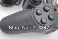 Best Selling USB GamePad Double Shock Gamepad Joystick Joypad Controller PC FashionGame Controller High Quality