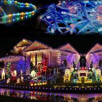 NEW 2013 50M 300 LED Colorful Decorative light Wedding Fairy Christmas Tree Party Twinkle String Lights EU TK1116 ..