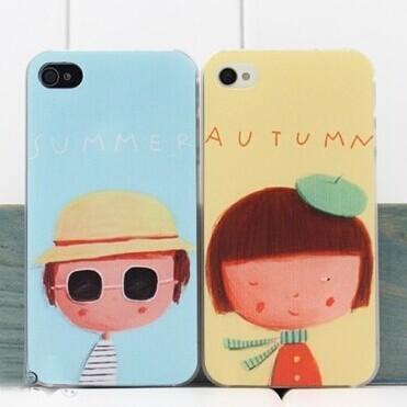 For iphone5s hard case cas de téléphone portable, couvrir la peau pour iphone logements 5/5s détail, 1pc+free protecteur d'écran