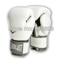 Free shipping TOP quality boxing gloves everlast boxing gloves Sparring gloves 10-16 ounces