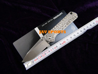 SANRENMU Folding Knife Spider 7010LUC-SD, 8 cr14,57HRC, sebenza type+Free shipping(SKU12010218)