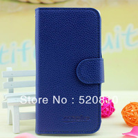 PU Leather Wallet Case For LG E970  Flip cover,Credit card hold, 1Pcs/lot ,Free shipping