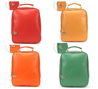 New Arrivals 2013 Leisure Solid Colour backpack women Vintage with Buckle backpack Candy Colour Free Shipping