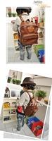 South Korea winghouse little male girl child PU leather backpack infant park shoulder bag