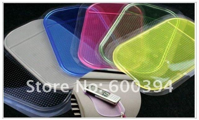 10pcs/lot Car Grip Pad Non Slip pad Sticky Mat Anti Slide Dash Cell Phone Holder Brand New(China (Mainland))