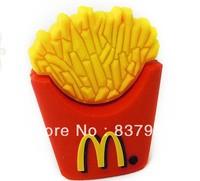 Genuine 4GB 8GB 16GB 32GB Creative Cute McDonald's Fries USB 2.0 Memory Stick Flash Drive