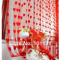 Wedding decoration curtain new house curtain love line curtain heart curtain