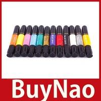 [BuyNao] 1PCS Solid DIY 2-way Nail Art Polish Dotted Pen Varnish Drawing Pen 24 hours dispatch