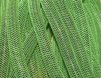 Neon Green w/Blk Met  Cyberlox Tubular Crin 60 yard 16mm