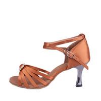 2 Colors Gorgeous Women's Ladies Latin Countrydance Tango Ballroom Salsa High Heeled Dance Shoes LADY CRLD 218  5cm Heel High