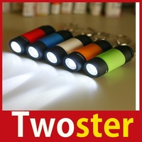 [TwoSter] New Mini Keychain Pocket Torch USB Rechargeable LED Light Flashlight Lamp High Quality
