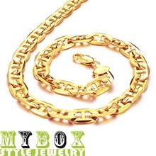 wholesale 18k gold necklace men