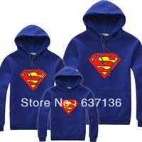 Sweatshirt Outerwear Male Women Lovers Autumn Super Man Sweatshirt Pullover Family Clothes  Hoodies
