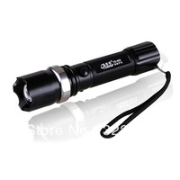 New Arrival High Power Rechargeable Torch Zoomable LED Flashlight Torch light outdoor lighting - Free shipping
