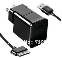 US Wall Charger Travel Plug USB Data Cable Travel Adapter for Samsung Galaxy Tab P1000 GALAXY TAB 2 / 10.1 / NOTE 10.1 / 7 / 8.9