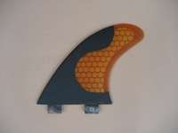 free shipping/fcs fins/surf surfboard carbon fin ORANGE