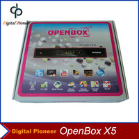 [Openbox X5]Original Open X5 Full HD Receiver Digital Satellite Receiver Wifi PVR Support 3G Youtube Google Map,Black