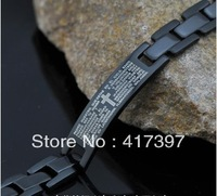 Super popular  cross Bracelet Swiss steel jewelry does not fade free shipping