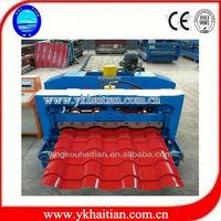 Glazed Color Roof Tile Machine