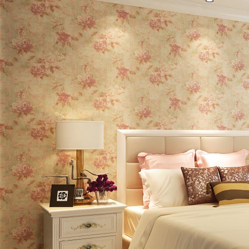 Retro Bedroom Wallpaper Retro Pastoral Bedroom