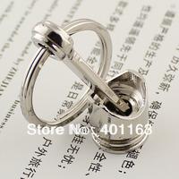 M86076 Hot Sale Creative Accessories Auto Parts Piston Keychain Keyring key Chain Ring Key Rings Keyfob
