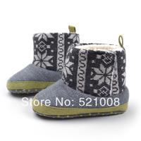 Baby Boy Shoes Winter Cotton Boots Snow Boots Cotton Padded Shoes  Toddler Shoes Kids Children's Soft Sole Prewalker Shoes