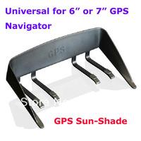 "Newest Better 6"" 7"" GPS Navigator Sunshield Sun Shade Visor Universal for 6inch 7inch GPS Prevent Sunlight Non-Reflective Hook"