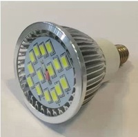 Free shipping DHL fedex ups ems free shipping   Ultra Bright 6W E14 SMD5630  Led Spotlight  AC85-265V CE/RoHS 15PCS SMD