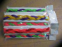 Wholesale - Free shippinig Sports Braided Hair Bands ,Woman Headband Style Sweaty Headband Non Slip Sports