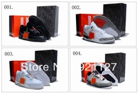 7 Colours Free Shipping Air Wholesale New Retro III 3 Men's Basketball Sport Footwear Sneaker Trainers Shoes ( 1 - 7 Colours )