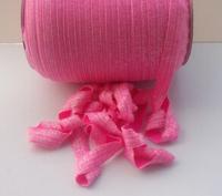 100yards 5colors Free shipping Matellic  foldover elastic  FOE  elastic for headband hair  Accessories